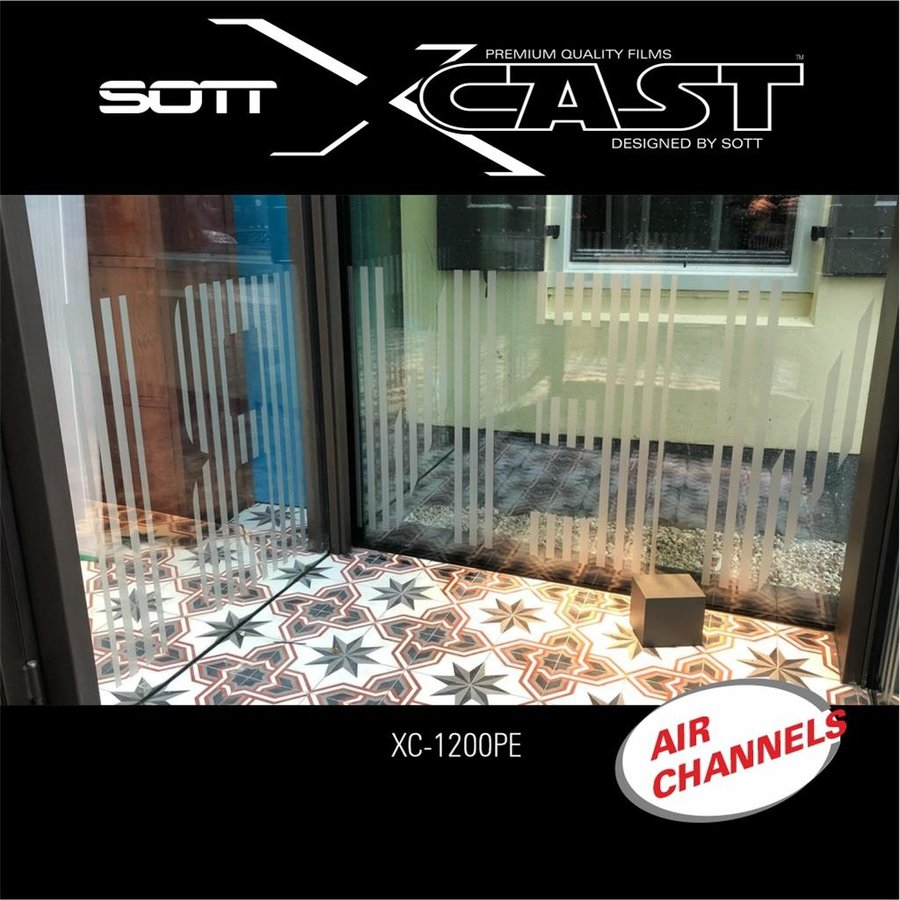 Glasdekor Folie X-Cast Etched Glass AirScape 152cm XC-1200X-152-4