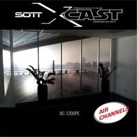 thumb-Glasdekor Folie X-Cast Etched Glass AirScape 61cm XC-1200X-61-3