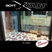 thumb-Glasdekor Folie X-Cast Etched Glass AirScape 61cm XC-1200X-61-4
