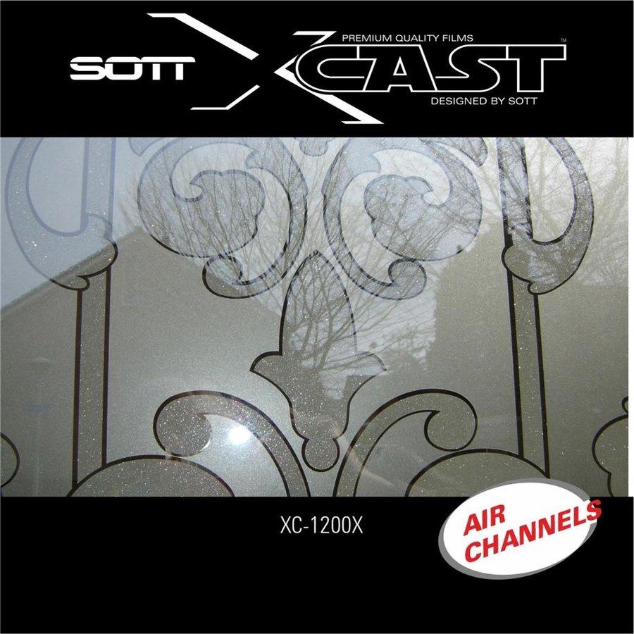 Glasdekor Folie X-Cast Etched Glass AirScape 61cm XC-1200X-61-5