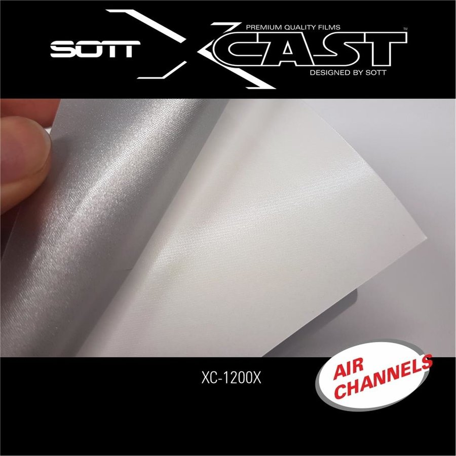 Glasdekor Folie X-Cast Etched Glass AirScape 61cm XC-1200X-61-6