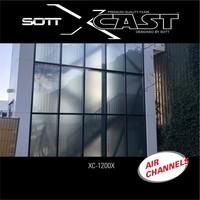 thumb-Glasdekor Folie X-Cast Etched Glass AirScape 61cm XC-1200X-61-8
