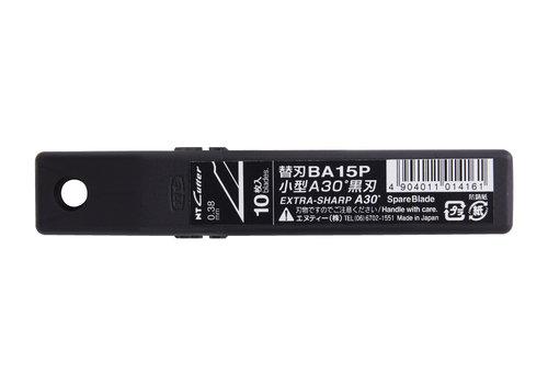 NT-Cutter® BA15P 30° Klingen, schwarz 120-BA15P