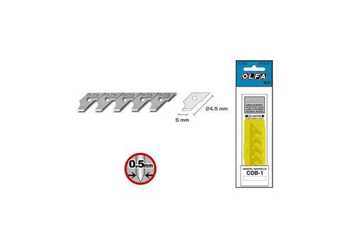 OLFA® COB-1 Ersatzklingen 120-COB-1