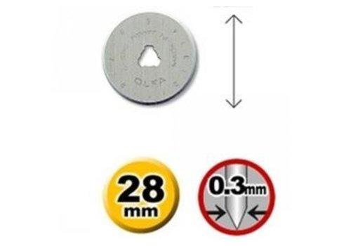 OLFA® 120-RB28-2 Olfa 28mm Wolfram Werkzeugstahl Rotationsmesser