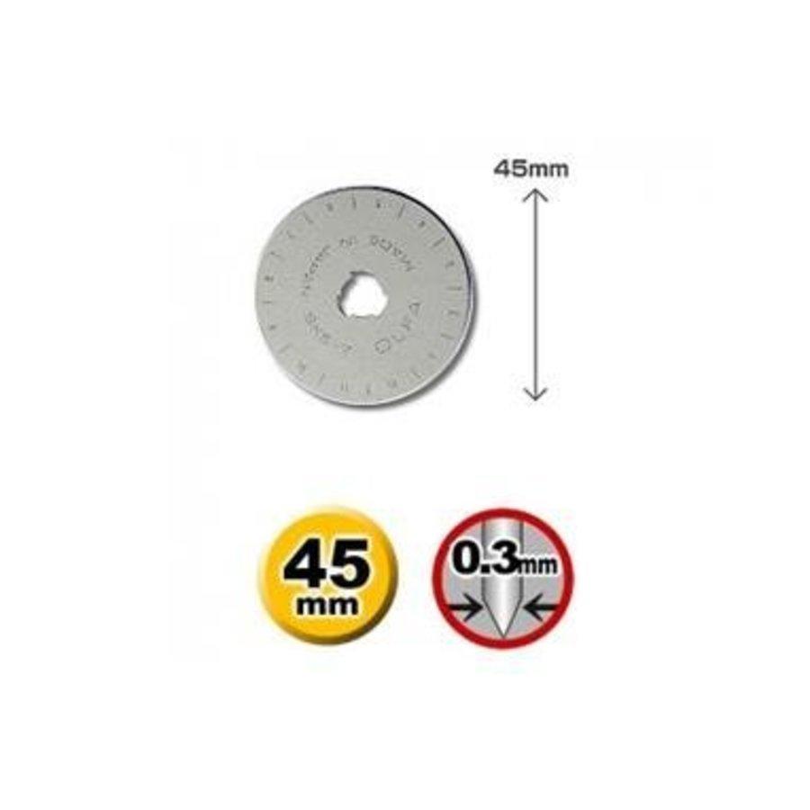 120-RB45-10 Olfa Ersatzklingen für Rotationsmesser-1