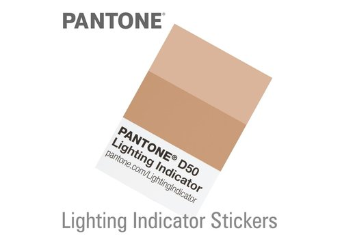 Pantone Lightning Indicator Stickers 750-D50