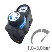 thumb-Druckregler mit Manometer für Hochdruckspray 550-4001-1