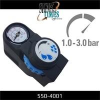 thumb-Druckregler mit Manometer für Hochdruckspray 550-4001-2