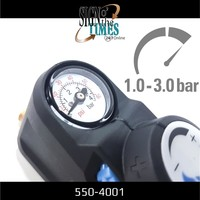 thumb-Druckregler mit Manometer für Hochdruckspray 550-4001-3