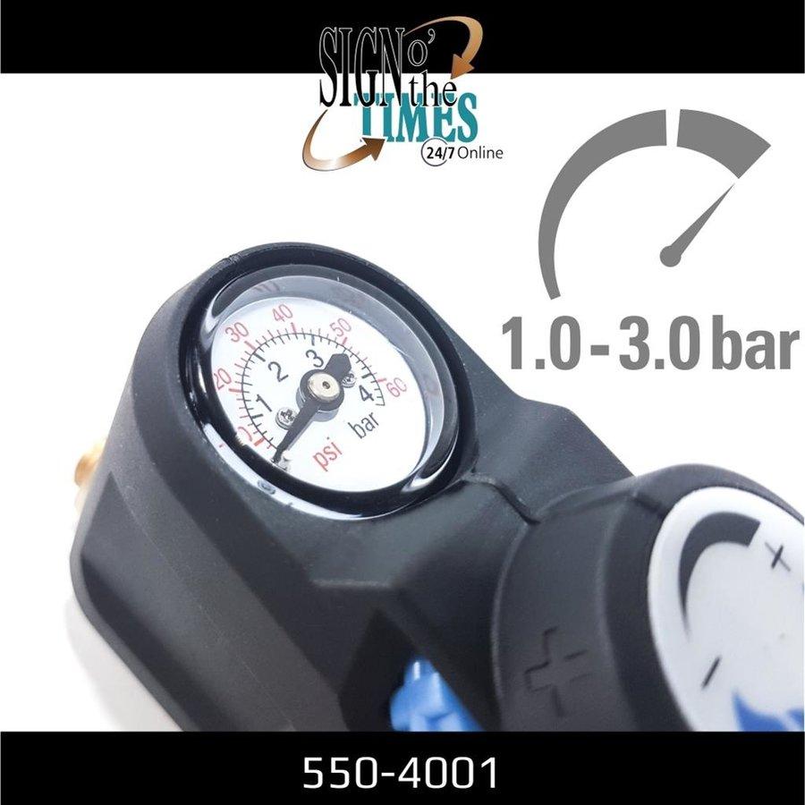 Druckregler mit Manometer für Hochdruckspray 550-4001-3