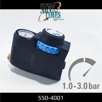 thumb-Druckregler mit Manometer für Hochdruckspray 550-4001-4