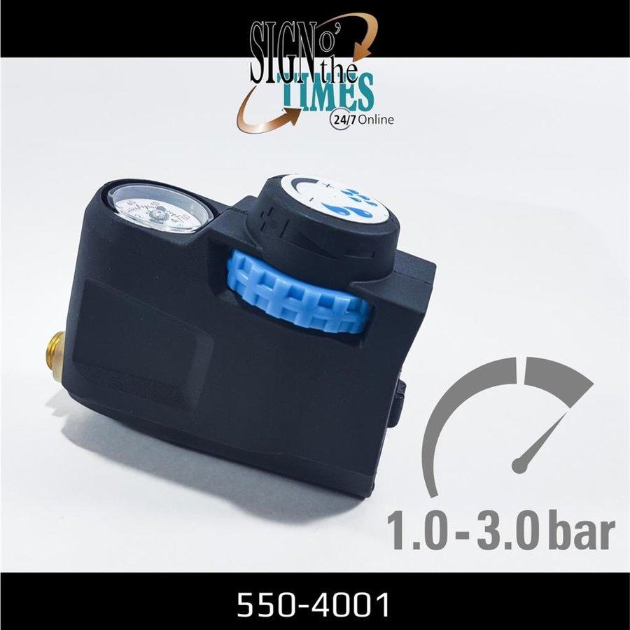 Druckregler mit Manometer für Hochdruckspray 550-4001-4