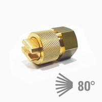 thumb-Flachstrahldüse Messing - extra feiner Nebel 550-4006-1