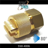 thumb-Flachstrahldüse Messing - extra feiner Nebel 550-4006-3