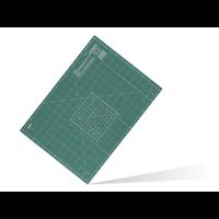 250-CM-A1 dreilagige Schneidematte 60 x 80 cm green