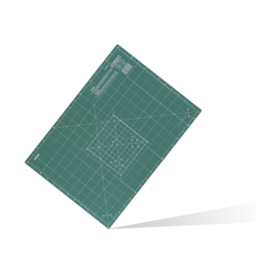 250-CM-A1 dreilagige Schneidematte 60 x 80 cm green-1