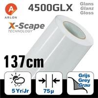 thumb-DPF 4500GLX X-Scape™ Glanz Weiß Film 137cm-1