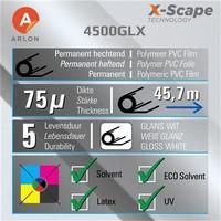 thumb-DPF 4500GLX X-Scape™ Glanz Weiß Film 137cm-2