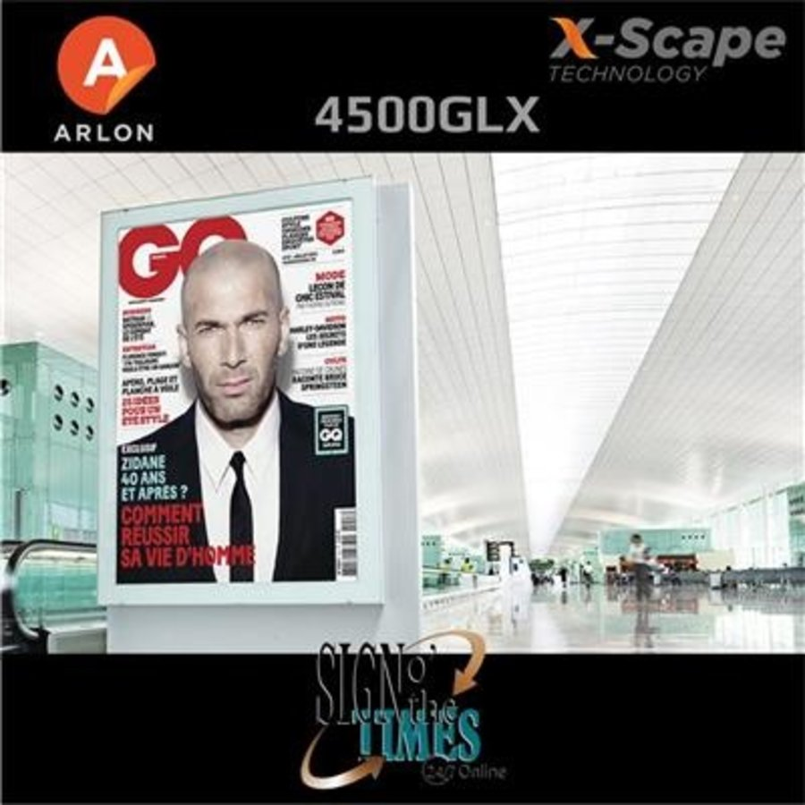 DPF 4500GLX X-Scape™ Glanz Weiß Film 137cm-4