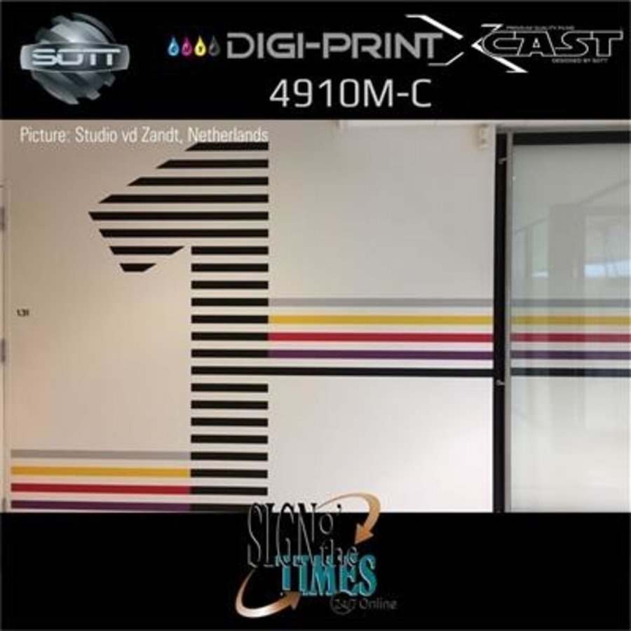 DigiPrint X-Cast Matt Weiß -137cm x 25 m-6
