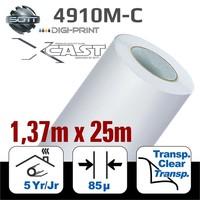 thumb-DigiPrint X-Cast Matt Weiß -137cm x 25 m-1
