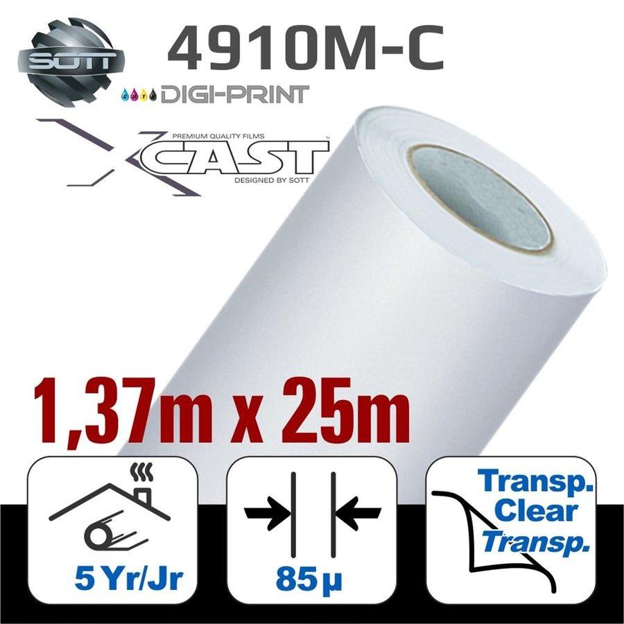 DigiPrint X-Cast Matt Weiß -137cm x 25 m-1
