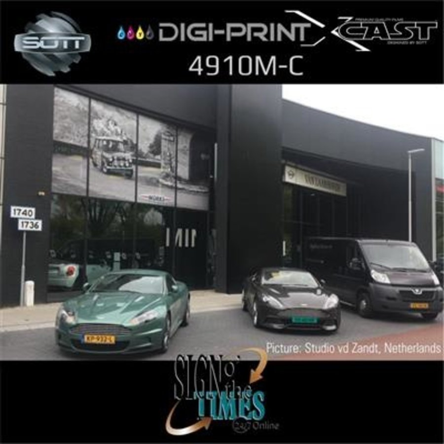 DigiPrint X-Cast Matt Weiß -152 cm x 25 m-5