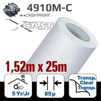thumb-DigiPrint X-Cast Matt Weiß -152 cm x 25 m-1