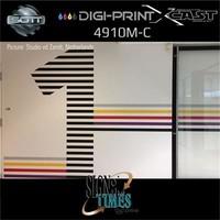 thumb-DigiPrint X-Cast Matt Weiß -152 cm-6