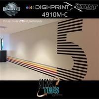 thumb-DigiPrint X-Cast Matt Weiß -152 cm-7