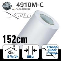 thumb-DigiPrint X-Cast Matt Weiß -152 cm-1