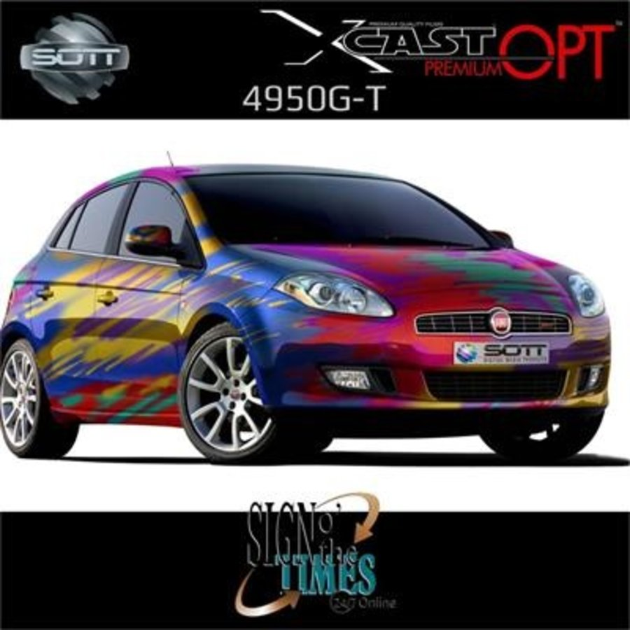 DigiPrint X-Cast™ PremiumOPT™ Glanz Weiß -137cm-9