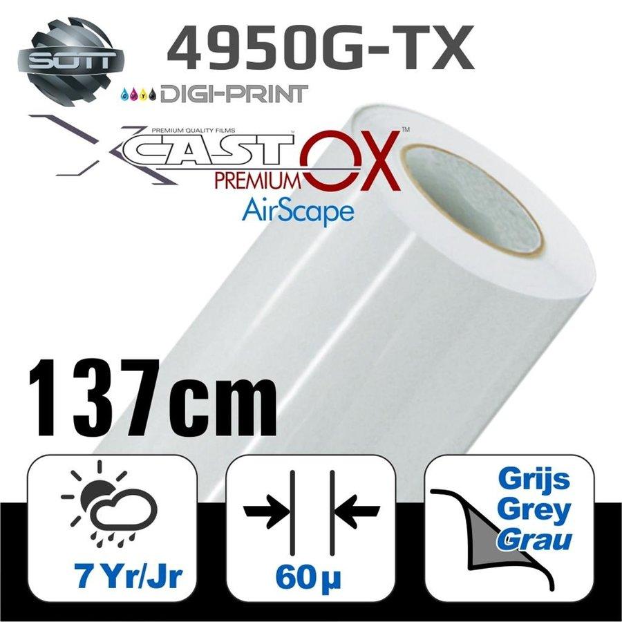 DigiPrint X-Cast™ PremiumOX™ Glanz Weiß -137cm-1