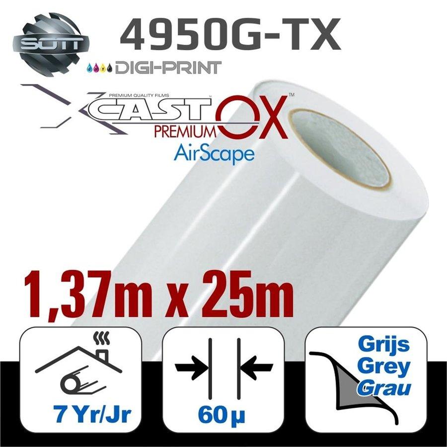 DigiPrint X-Cast™ PremiumOX™ Glanz Weiß -137cm - 25m-1