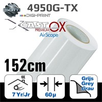 thumb-DigiPrint X-Cast™ PremiumOX™ Glanz Weiß -152 cm-1