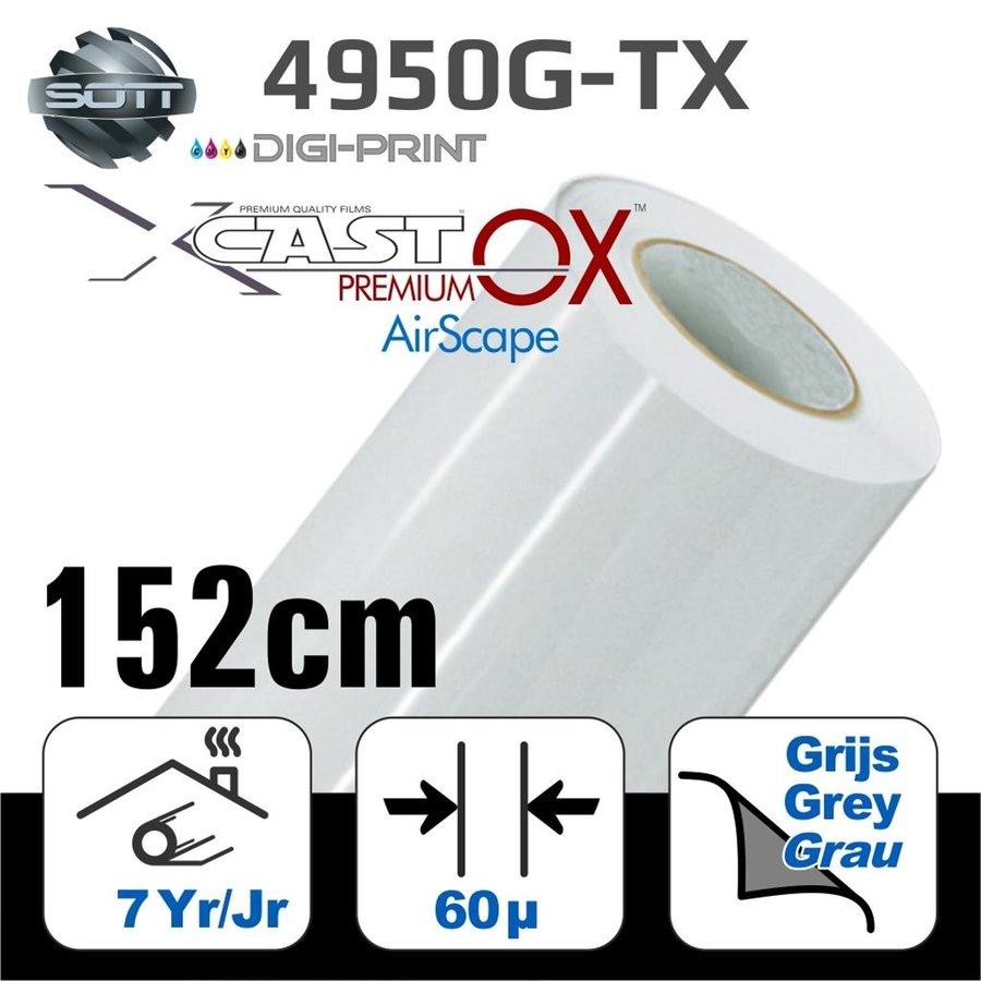 DigiPrint X-Cast™ PremiumOX™ Glanz Weiß -152 cm-1