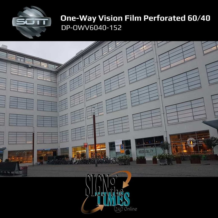 DP-One-Way Vision Film Perforated 60/40 -152-7