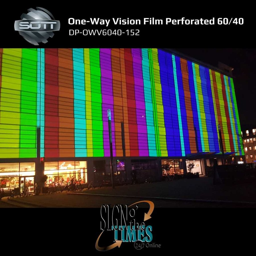 DP-One-Way Vision Film Perforated 60/40 -152-8