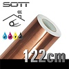SOTT® Metaleffect Indoor Brushed Satin Copper -122cm DP-Brushedcopper-122