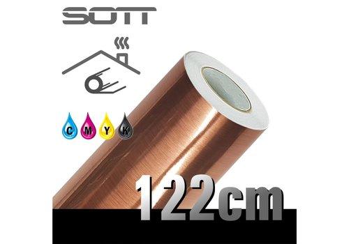 SOTT® Metaleffect Indoor Brushed Satin Copper -122cm DP-Brushedcopper-122