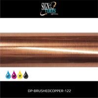 thumb-Metaleffect Indoor Brushed Satin Copper -122cm DP-Brushedcopper-122-2