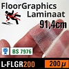 SOTT® Digilam Floorgraphics anti-rutsch laminat L-FLGR200 200 micron