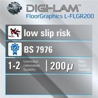 thumb-Digilam Floorgraphics anti-rutsch laminat L-FLGR200 200 micron-2