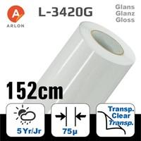 thumb-L-3420 Glanz Laminat Polymer -152 cm-1