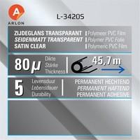 thumb-L-3420S Seidenmatt Laminat Polymer -152 cm-2