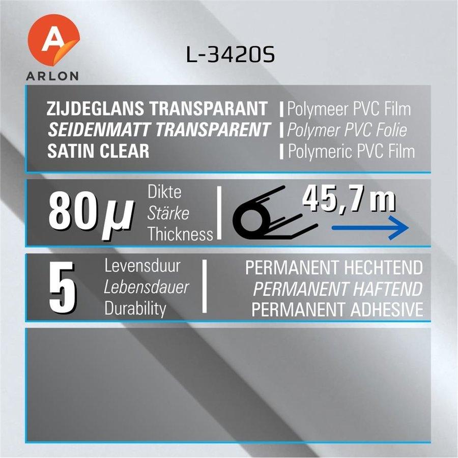 L-3420S Seidenmatt Laminat Polymer -152 cm-2