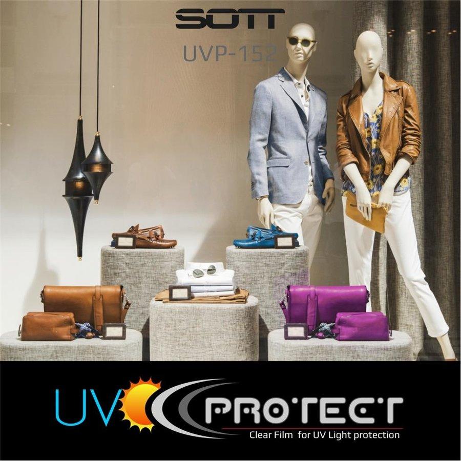 UV Protektion Folie Glasklar High Grade - UVP-152cm-10