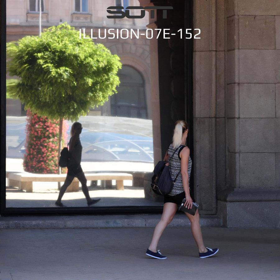 Illusion 7 One-Way Mirror Exterior Illusion-07E-152-3