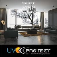 thumb-UV Protektion Folie Glasklar -152cm UVPS-152-5